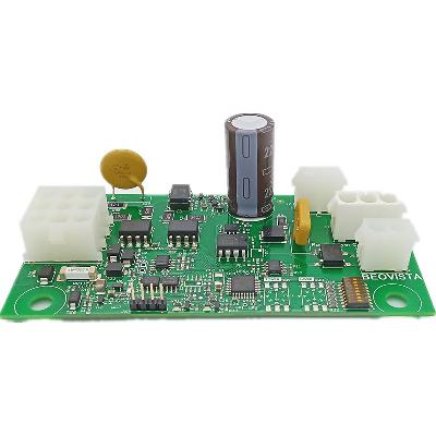 Car audio control circuit board